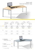 Desks, pedestals, and chairs - 16