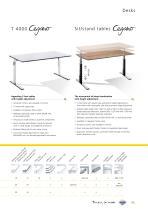 Desks, pedestals, and chairs - 4