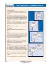 able Top Laminar Flow Work Stations