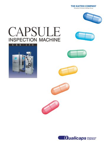 CES Capsule Inspection Machine