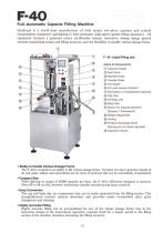 F-40 Fully-Automatic Capsule Filling Machine - 2