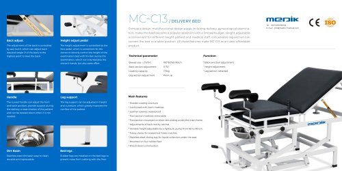 MC-C13 Delivery Room Bed