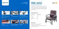 MK-A02 Hospital Sleeper Chair - 1