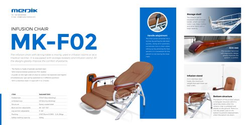 MK-F02 Medical infusion chair for patient