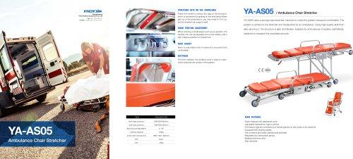 YA-AS05 Ambulance Stair Stretcher