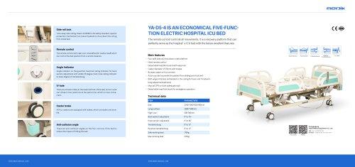 YA-D5-4 Automatic Hospital Grade Bed