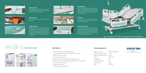 YA-D6-3 ICU Patient Bed