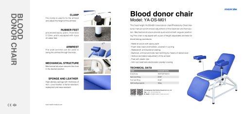 YA-DS-M01 Blood Sample Chair