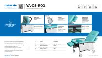 YA-DS-R02 Hospital patient recliner chairs - 1
