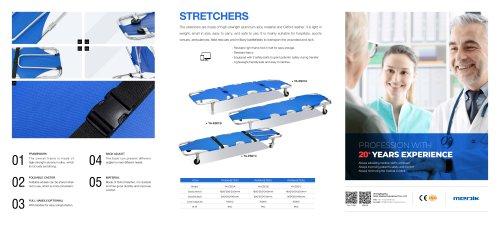 YA-ES01 Folding Emergency Stretcher