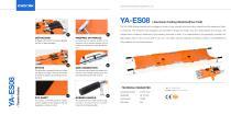 YA-ES08 Folding Emergency Stretcher - 1