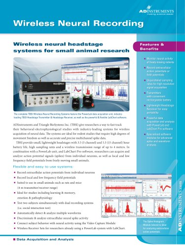 Wireless Neural Recording