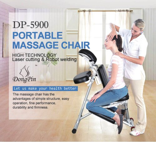 DP-5900 Portable Massage Chair