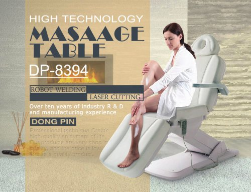 DP-8394 electric massage table