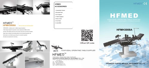 HFMED/HFMH3008A/Manual Hydraulic Operating Table