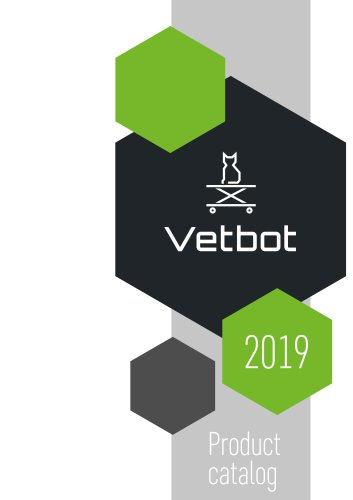 VETBOT Product catalog 2019