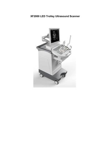 XF2000 trolley B/W ultrasound scanner