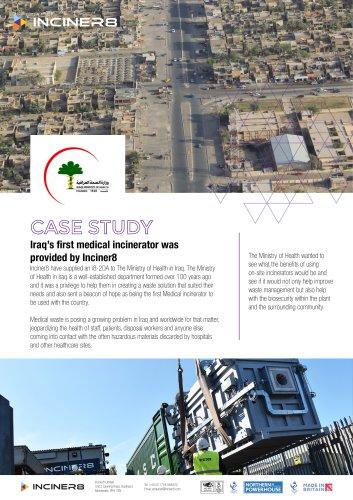 Medical Incinerators in Iraq
