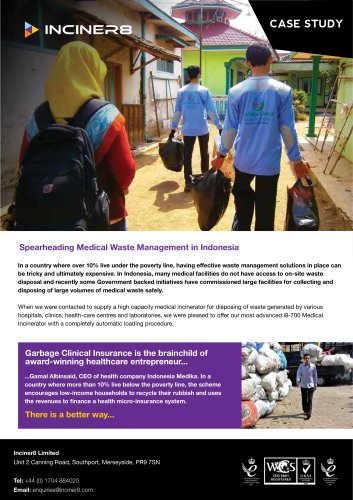 Medical Waste in Indonesia - Case Study
