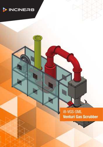 Small Venturi Gas Scubber