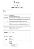 Technical Sheet Limfa Therapy