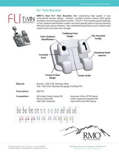 FLI® Twin Bracket