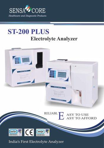 ST-200 PLUS  Electrolyte Analyzer