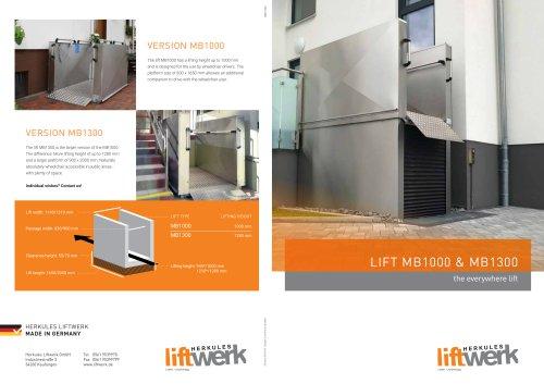 lift MB1000 & MB1300
