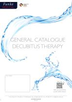 GENERAL CATALOGUE DECUBITUS THERAPY