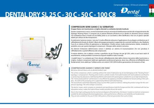 Dental DRY SL 25C-30C-50C-100 C8