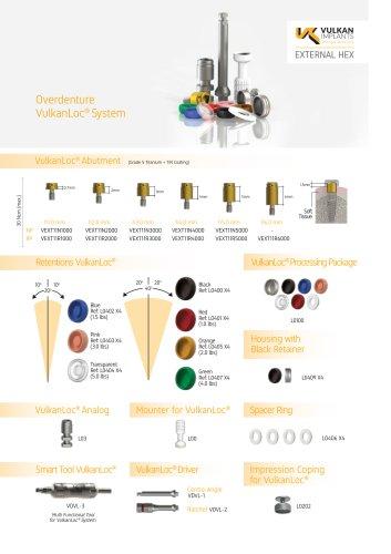 Overdenture VulkanLoc® System