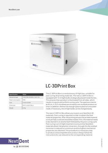 LC-3DPrint Box