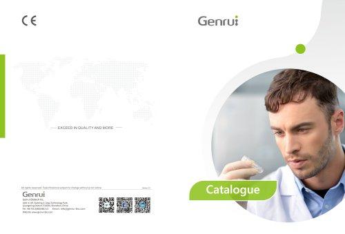 Genrui Product Catalogue