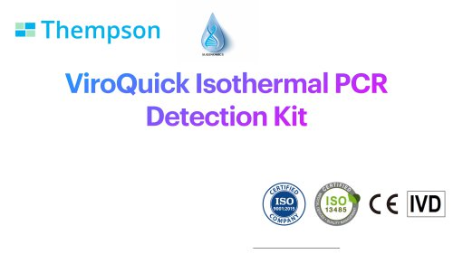 Covid-19 Isothermal PCR Detection Kit