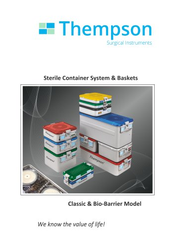 Sterile Container System & Baskets