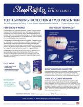 Sleep Right Rx'Dental Guard