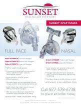SUNSET CPAP MASKS - 1