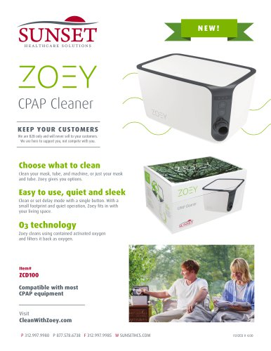 Zoey CPAP Cleaner