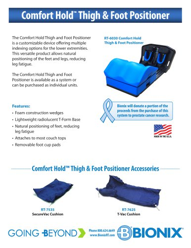 Comfort Hold™ Thigh & Foot Positioner