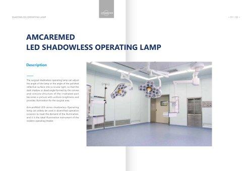 AmcareMed Surgical Operating Lamp Catalogue