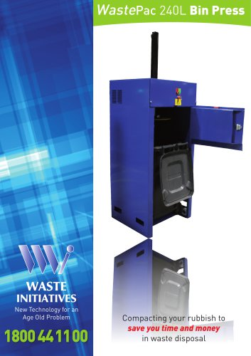 WastePac 240L Bin Press