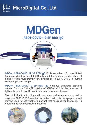 MDGen AB96-COVID-19 SP RBD IgG - Catalog