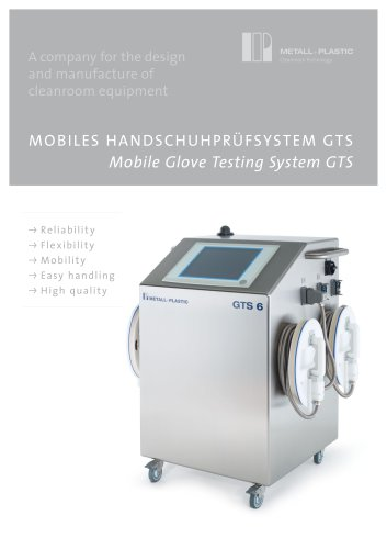 Mobile Glove Testing System GTS