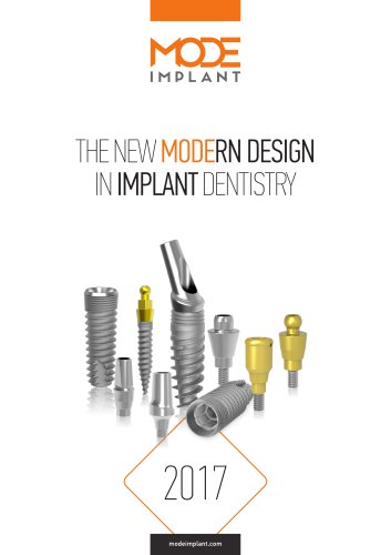 Mode Implant General Catalogue