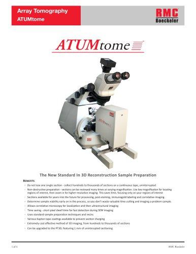 Array Tomography ATUMtome