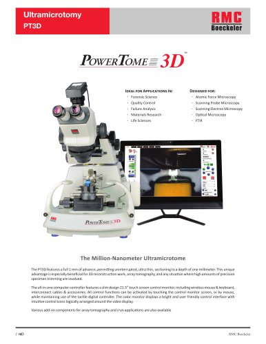 Ultramicrotomy PG RMC Boeckeler PT3D