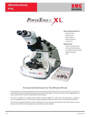 Ultramicrotomy PTXL