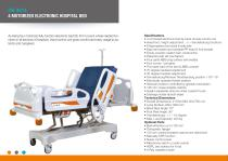 COLUMN MOTORIZED ELECTRIC ICU BED