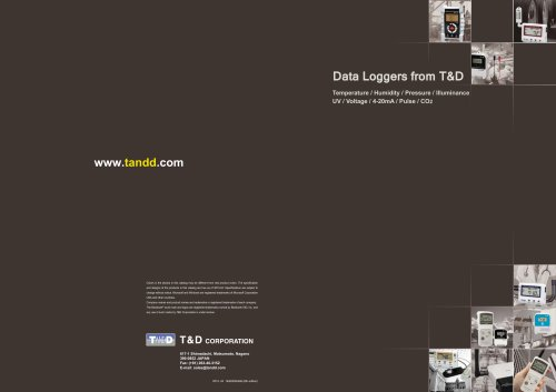 Data Loggers from T&D