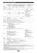 TR-7wb/nw Series - Specifications - 1